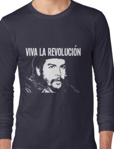 VIVA LA REVOLUCIÓN Long Sleeve T-Shirt