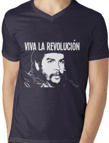 VIVA LA REVOLUCIÓN Mens V-Neck T-Shirt