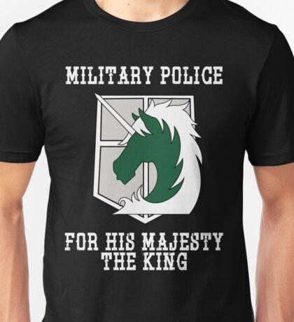 Militaty Police Unisex T-Shirt