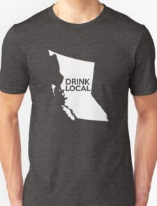 British Columbia Drink Local BC Unisex T-Shirt