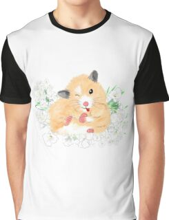 Cute Syrian Hamster Honey Graphic T-Shirt