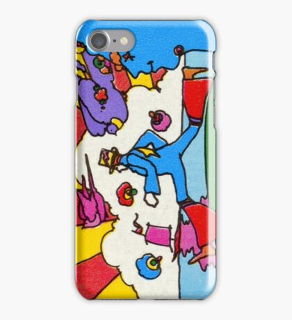 Psychedelic US Stamp iPhone Case/Skin