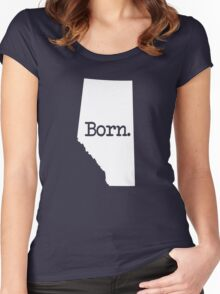 Alberta Born AB Women's Fitted Scoop T-Shirt
