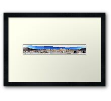 Monster Rock Framed Print
