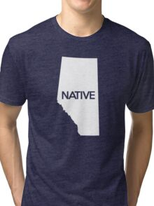 Alberta Native AB Tri-blend T-Shirt