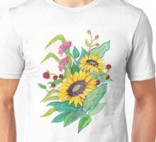 Sunflower Ikebana Unisex T-Shirt