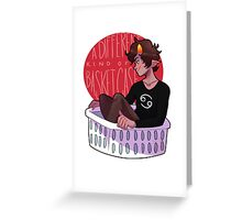 A Different Kind Of Basket Case Greeting Card