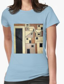 Ancient city Womens Fitted T-Shirt