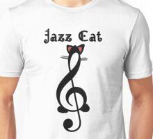 The Jazz Cat (w/text) Unisex T-Shirt