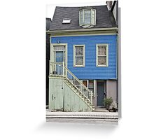 House of Blue  Greeting Card