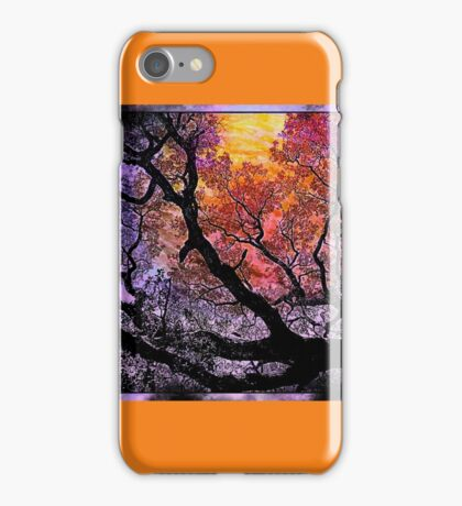 Branches in the Sunset iPhone Case/Skin