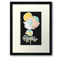 Gangsta Pearl Framed Print