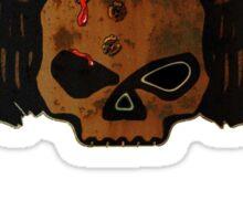 Winged Skull 'HEAD SHOT' Sticker