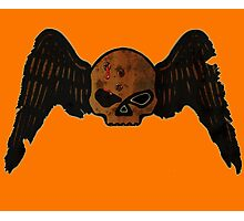 Winged Skull 'HEAD SHOT' Photographic Print