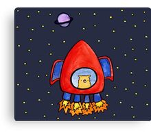 Impossible Astronaut Canvas Print