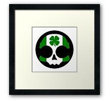 Clover Skull Logo Framed Print