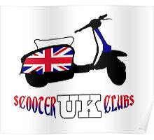 Scooter Clubs UK Poster