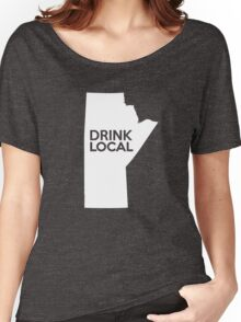 Manitoba Drink Local MB Women's Relaxed Fit T-Shirt