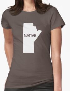 Manitoba Native MB Womens Fitted T-Shirt