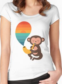 Summer Dreams Women's Fitted Scoop T-Shirt