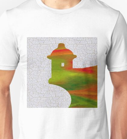 Colorful Art El Morro Unisex T-Shirt
