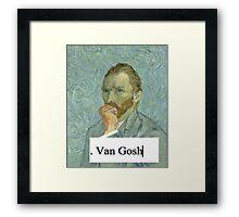 Van Gosh Framed Print