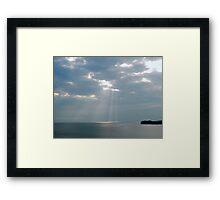 Jamaican Skies Framed Print