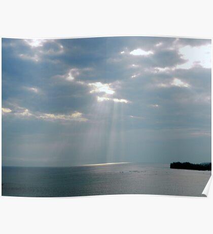 Jamaican Skies Poster