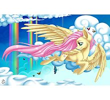 Fluttering Fluttershy Photographic Print