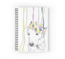 Party Animal ! Labrador Spiral Notebook