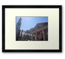 Quincy Market Framed Print
