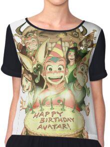 Avatar's Birthday Chiffon Top
