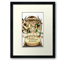 Avatar's Birthday Framed Print