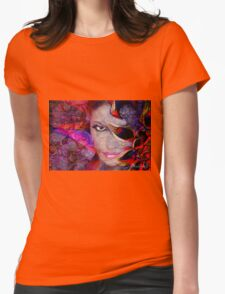 Boy so many colors... Womens Fitted T-Shirt