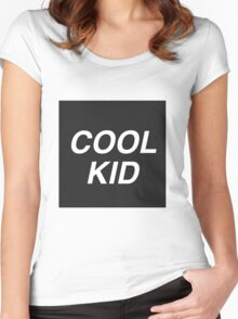Cool Kid Women's Fitted Scoop T-Shirt