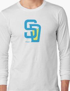 San Diego Baseball and Beer  Long Sleeve T-Shirt
