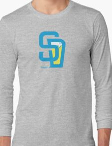 San Diego Baseball and Beer  Long Sleeve T-Shirt