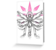 Graffiti Angel of Light Greeting Card