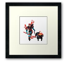Rivan the Tamer - Hyper Light Drifter Framed Print