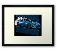New York Drift sport car Framed Print