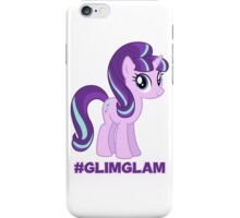 Support #GlimGlam iPhone Case/Skin