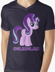 Support #GlimGlam Mens V-Neck T-Shirt