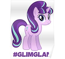 Support #GlimGlam Poster