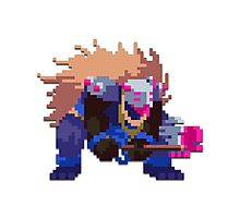 Alizon - Hyper Light Drifter Photographic Print