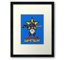 Gamer furBag Framed Print
