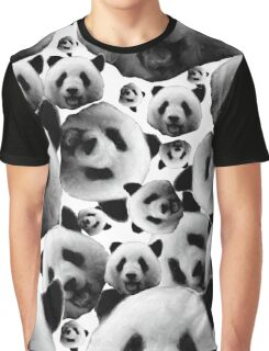 Panda-La - Mandala Graphic T-Shirt