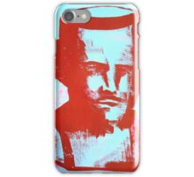red bust iPhone Case/Skin