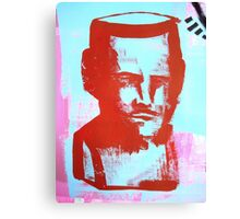 red bust Canvas Print