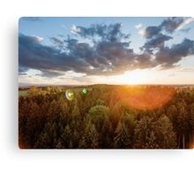 The Most Beautiful Sunset Ever Canvas Print