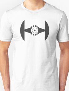 Minimal Tie Fighter Unisex T-Shirt